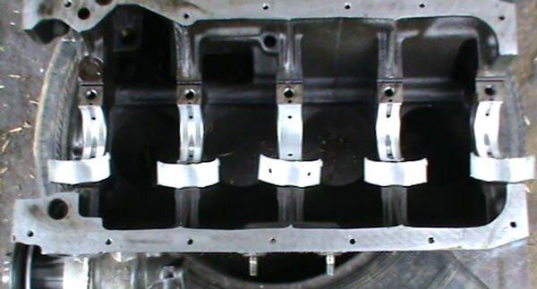 блока двигателя,