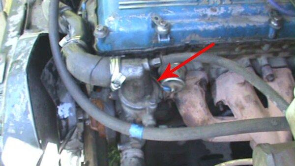 термостат в 406 двигателе?