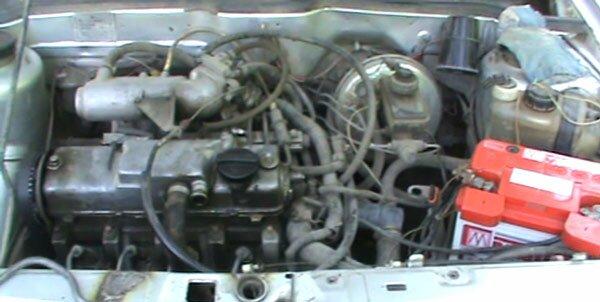 Замена двигателя на ваз 2108