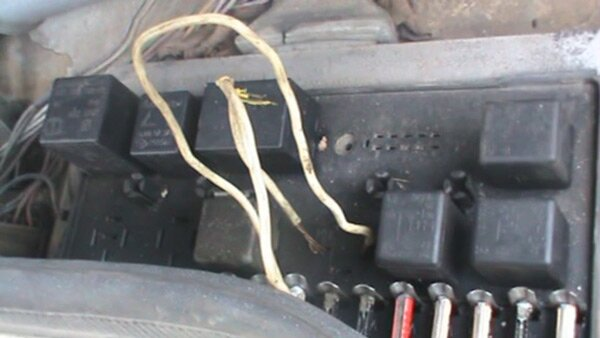 Схема подключения вентилятора охлаждения ваз 2108-09.