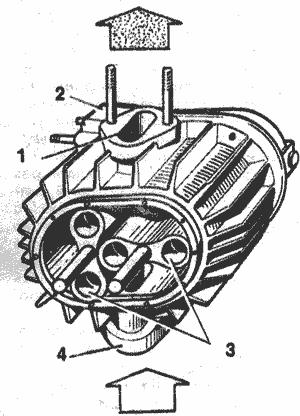 Механический нагнетатель воздуха своими руками
