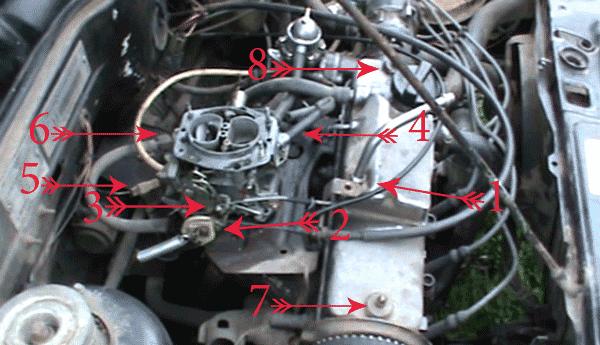 Бензиновый двигатель на вольво