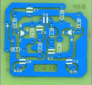 Схема платы антенного усилителя